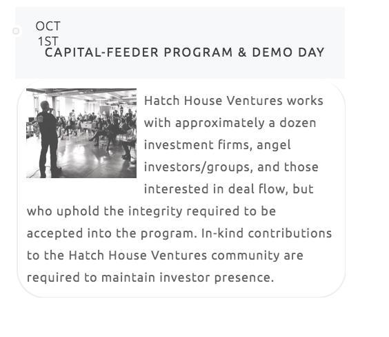 Why?: The Founders of Hatch House Ventures graduated from their respective schools many years ago.