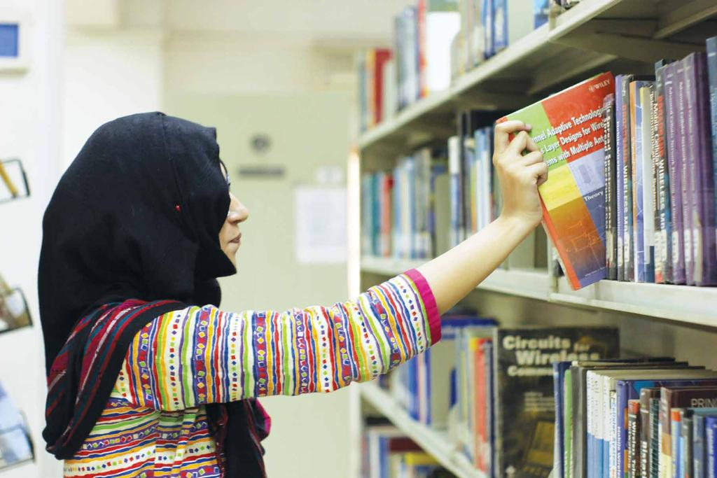 ENGR. ABUL KALAM LIBRARY NED University is proud to possess a well-equipped and fully computerized library.