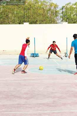 EXTRA-CURRICULAR ACTIVITIES AND SPORTS NED University is proud to have a vibrant and dynamic student body, who actively engages in sports and extracurricular activities as well.