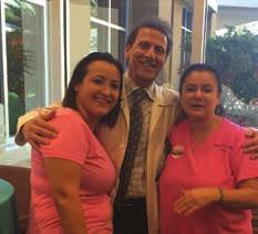 Pictured (L-R): Office Manager Patty Ortiz, Dr. K.S. Kumar, Physician Liaison JoLynn Wright 13b.
