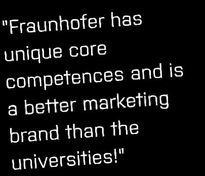 Why a Fraunhofer Center?