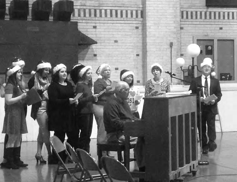 dance majors. Santa s Helpers consisted of members of Georgian Court s church choir, while the Voices of Mercy is a newly formed Georgian Court acapella group.