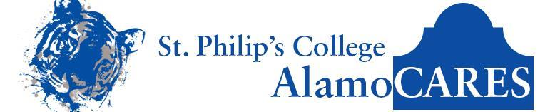 AlamoCARES (cont d) For more information, contact Dr. Mordecai Brownlee, Vice President of Stu