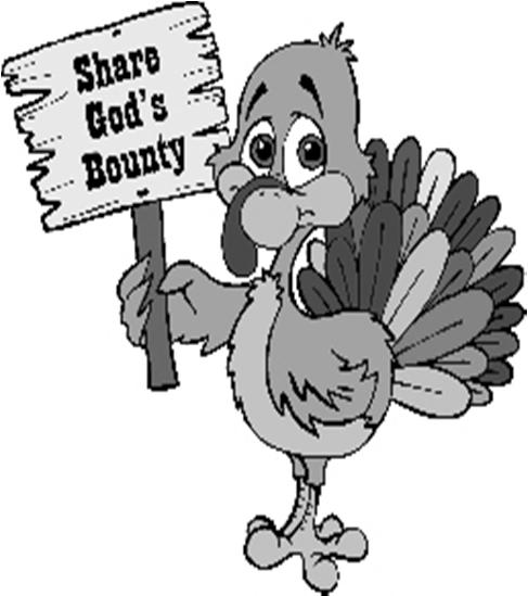 We are in need of turkeys for our annual Thanksgiving Baskets Food Drive that will feed parish families that are in need.