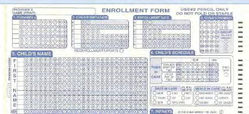 Child s Enrollment Form