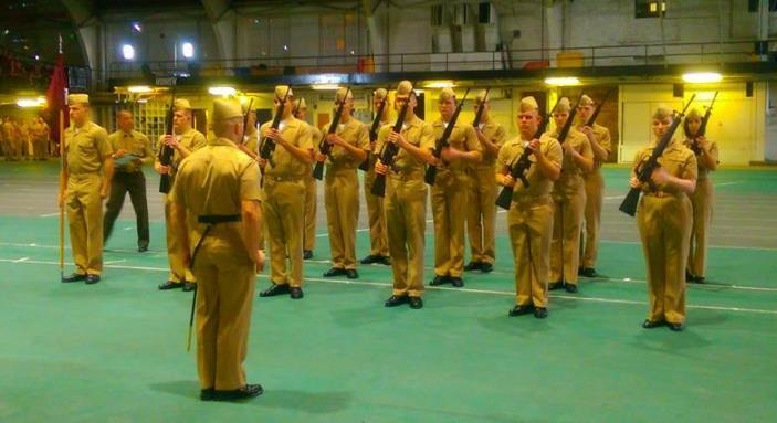 Midshipmen from the UMN NROTC unit traveled across the country to Colorado to showcase their proficiency in drill as well as bond with each other and Midshipmen from other NROTC units throughout the