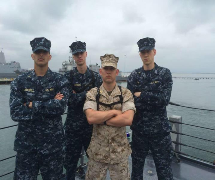 MIDN 3/C Christian Lasswell s Summer Cruise CORTRAMID WEST 2015 On 20 May 2015, several midshipmen and I arrived at the Minneapolis airport en route to San Diego hoping for the best, but not knowing