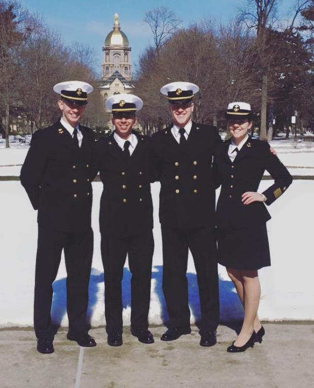 Naval Leadership Weekend By MIDN 1/C Zack Coffel On the 25th of February, the University of Minnesota NROTC sent four of their senior leaders (MIDN Coffel, Kitagawa, Blomgren, and Jones) to the Naval