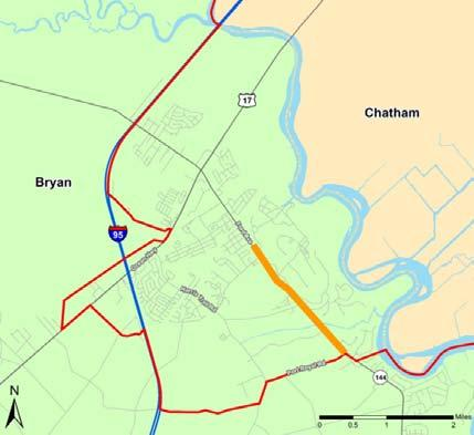 COASTAL REGION METROPOLITAN PLANNING ORGANIZATION FY 2015-2018 TRANSPORTATION IMPROVEMENT PROGRAM SR 144 EB FROM S OF CR 100 TO S OF CR 154 P.I. #: 532370 TIP #: 2017-Bry-01 PROJECT DESCRIPTION: The proposed project is for widening and reconstruction COUNTY: Bryan of SR 144 beginning west of CR 100, Timber Trail Rd.