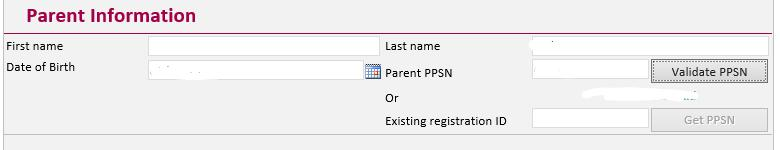 Tip Box: Inputting Fada Signs and Accented Characters PIP Registration Forms will take names with fada signs and accented characters however these are not available for direct input using a QWERTY