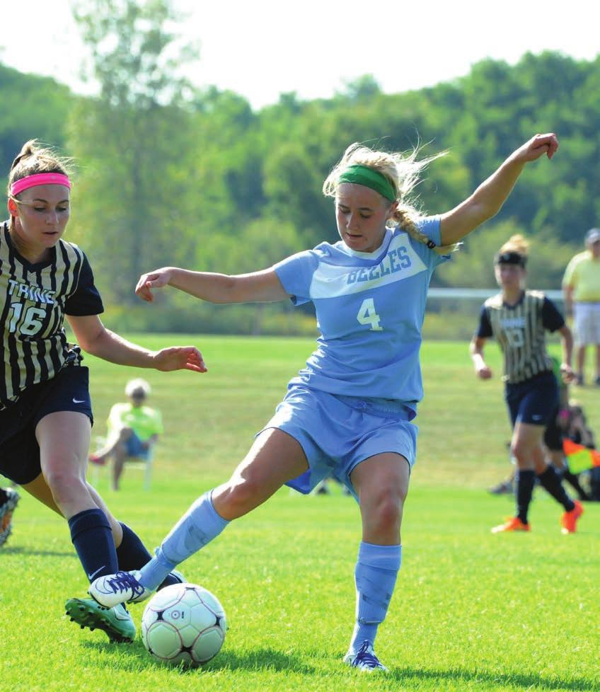 2015 16 Schedule Belles Soccer Invite Friday Sept. 2 vs Manchester 7:30 p.m. Saturday Sept. 3 vs MSOE 3 p.m. Wednesday Sept. 7 at Albion * 4 p.m. Saturday Sept. 10 vs. Olivet * 7 p.m. Monday Sept.