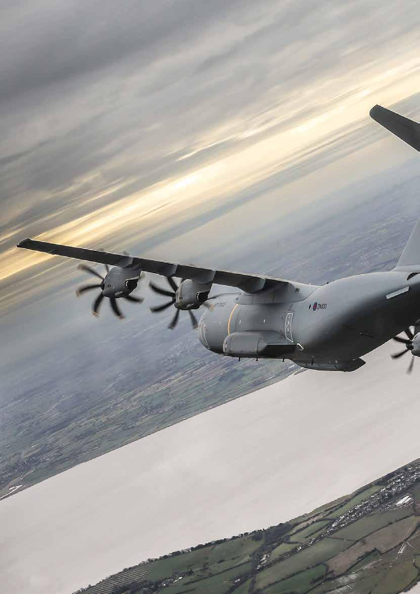 NEWS An Atlas Update In last month s magazine you will have read about XXIV Sqn C Flight s first sortie from RAF Brize Norton in the RAF's very first Airbus A400M Atlas.