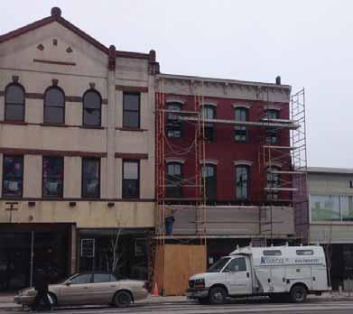 Action: Establish and administer a façade improvement program for downtown properties. 2.