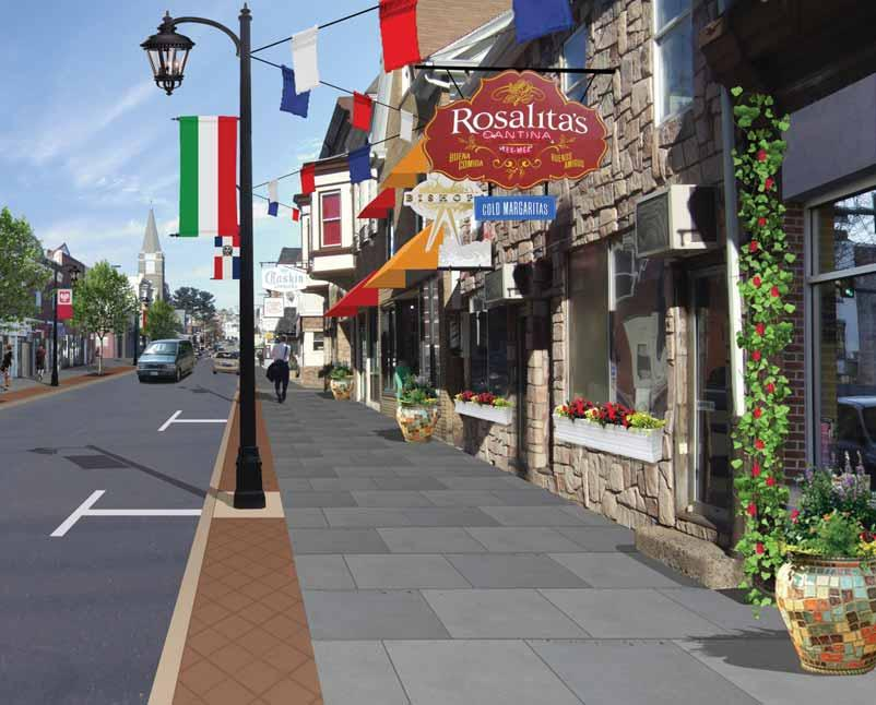 Preliminary Enhancement Options Wyoming Streetscape Hazleton has long been a diverse and multi-cultural city and that trend is now evolving to welcome a new generation of citizens with