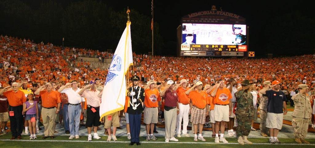 Clemson was originally scheduled to play Duke on September 15, 2001, but the Atlantic Coast Conference and the NCAA postponed all games scheduled for the weekend following the September 11 terrorist