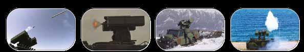 advanced electro optical sensors (thermal and TV cameras, laser range finder) and navigation sensors Flexible architecture enables to