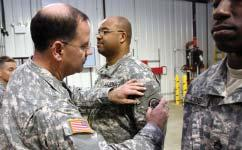 In most cases, the veteran will be assigned a mentor from the Army Guard or Air Guard.