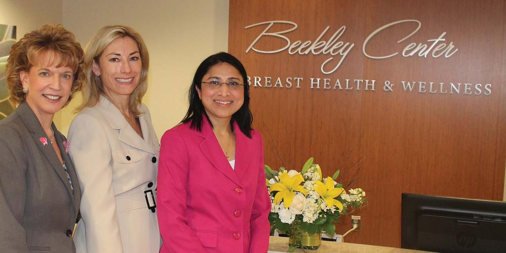 Bristol Hospital s Beekley Center for Breast Health & Wellness officially opened with a ribbon cutting event on Oct. 24.