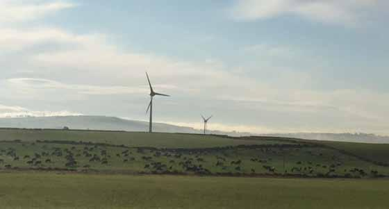MARSHILL WIND FARM KEEPING OWNERSHIP LOCAL Location Marshill Farm, Lesmahagow Type Wind farm Development status Operational Share size 25% of 3.9MW More information www.lesmahagowdevtrust.