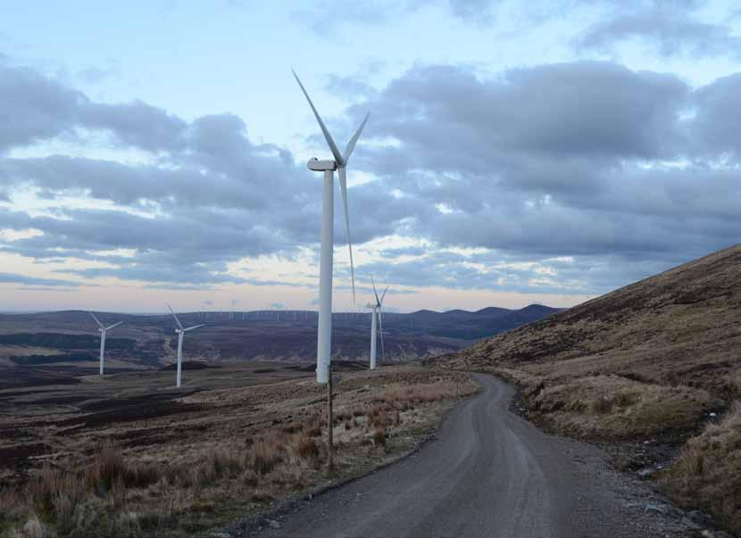 KILBRAUR WIND FARM SHARING IN THE PROFIT OF LOCAL GENERATION Location Strath Brora, Sutherland Type Wind farm Development status Operational Share size Up to 4% revenue share of 67.
