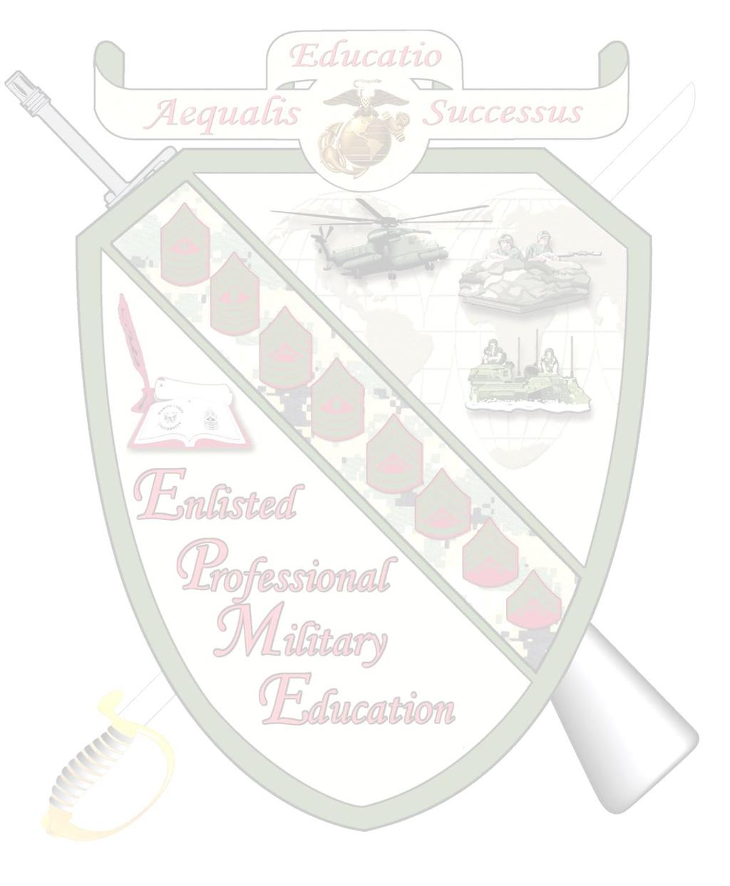 Enlisted Professional Military Education FY 18 Academic Calendar Table of Contents STAFF NON-COMMISSIONED OFFICER ACADEMIES: SNCO Academy Quantico SNCO Academy Camp Pendleton SNCO Academy Camp