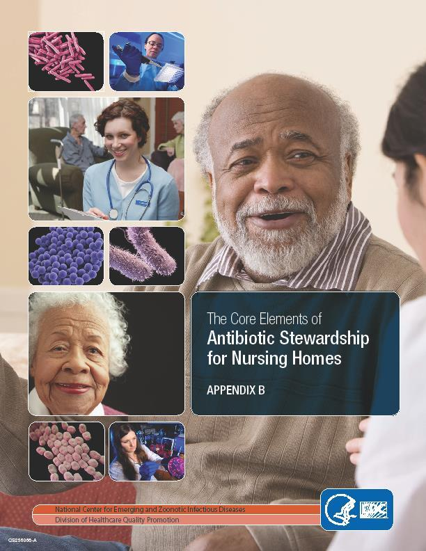 Tracking and Reporting Antibiotic Use and Outcomes Nursing homes monitor both antibiotic use practices and outcomes related to antibiotics in order to guide practice changes and track the impact of