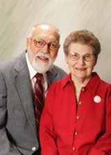 Faculty and Staff Award Carl Wehner, Class of 1951 and Class of 1959 Wanda Wehner, Class of 1952 and Class of 1966 This award recognizes an individual or couple currently employed by or retired from