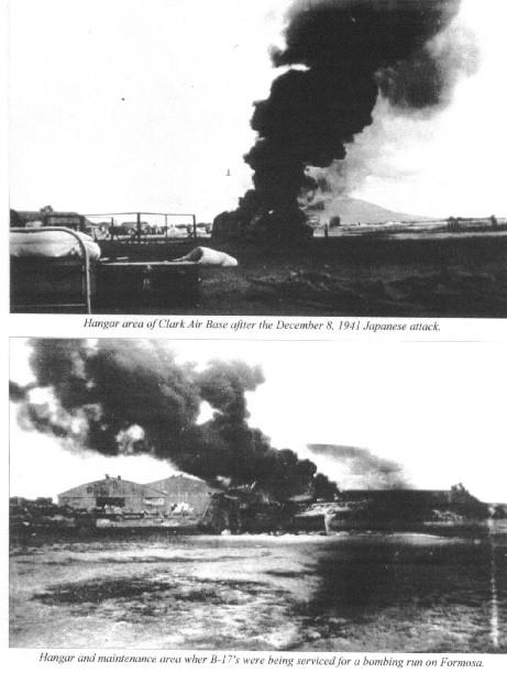 DISASTER AT CLARK With this smashing blow, the Japanese made obsolete the carefully prepared plans of defense in the event of war in the Pacific.