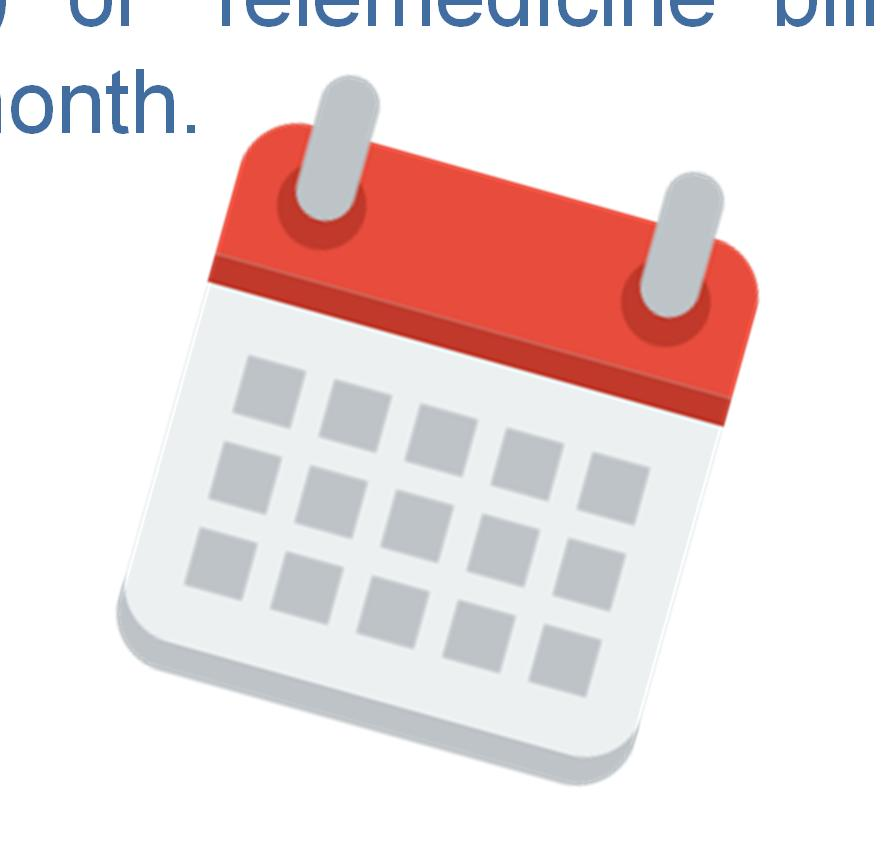Prior to CCM Billing Ensure that all elements for calendar month are met prior to billing CPT code 99490.