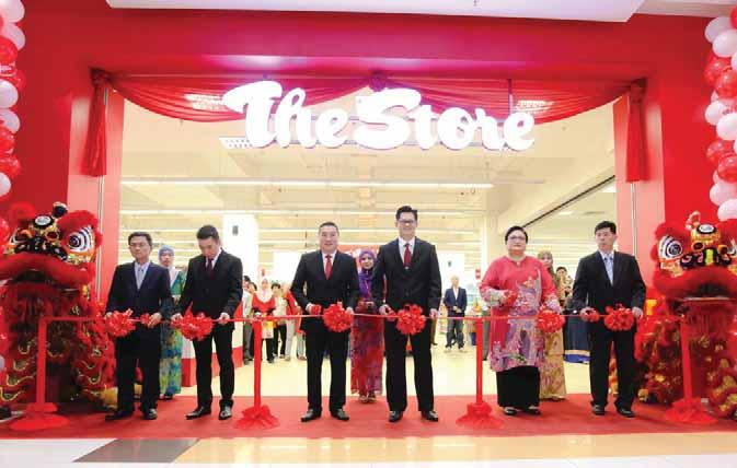 Spread Wings Expand Retail Network The Store Group opens its 75th branch in M3 Mall,Taman Melati Setapak on 24th