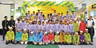 Bhd treated 60 orphanage children from Anak-anak Yatim Rumah Harapan to a buka