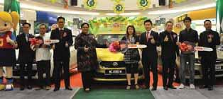 The grand prizes consisted of 3 brand new cars; 1 st Prize - Perodua Myvi 1.3 2 nd Prize - Proton Saga 1.