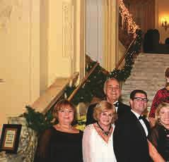 GALA SUPPORTS SCHOLARSHIPS Students At The Center of Elegant Affair The 39th annual Holiday Ball again served as a cornerstone event to help raise scholarship funds for