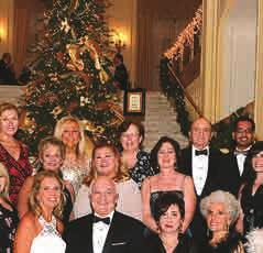The gala, which featured a winter wonderland of trees decorated in a black and gold art deco theme, is a perennial favorite for philanthropic donors who enjoy the unique