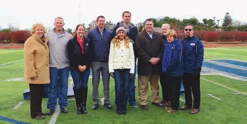 HALL OF FAME ADDS SIX AND FIRST TEAM The Sports Hall of Fame honored the inductees in the class of 2013 on November 22.
