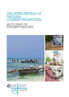 NEW PUBLICATIONS The latest additions to the ITC publication series on NTMs include survey reports on Tunisia and the United Republic of Tanzania.