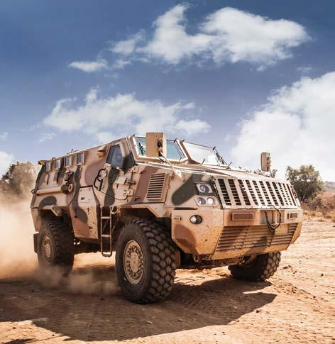 All vehicles in the range provide exemplary performance in survivability, mobility and firepower and are tested to NATO specifications with independent certification.