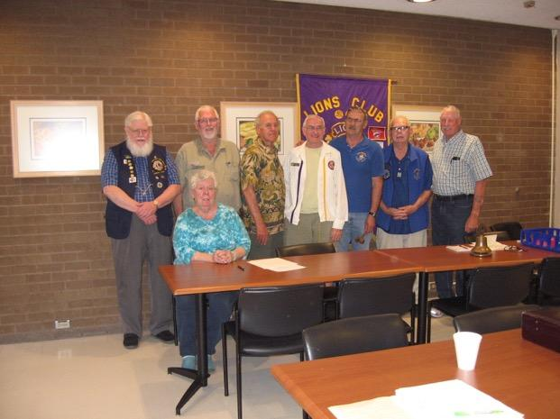 Summer 2016 The Lion s Roar 3 Club Installs 2016-2017 Officers Left to Right: ZC Gordon Olson, Claudia Mills, Jim Forgey, Tom Snyder, Charles Brady, Brian Evans, Ed Soper, Bobby Mills.