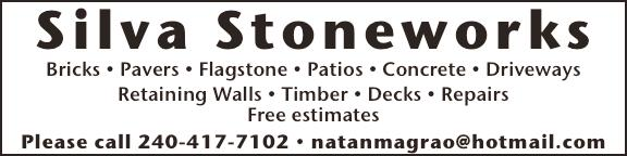 com APPALOOSA CONTRACTORS Drainage Problems Timber Walls Flagstone Walkways Patios Fencing Landscape Design & Installation Tree Service With The Boss Always On The Job Call 301-947-6811 or