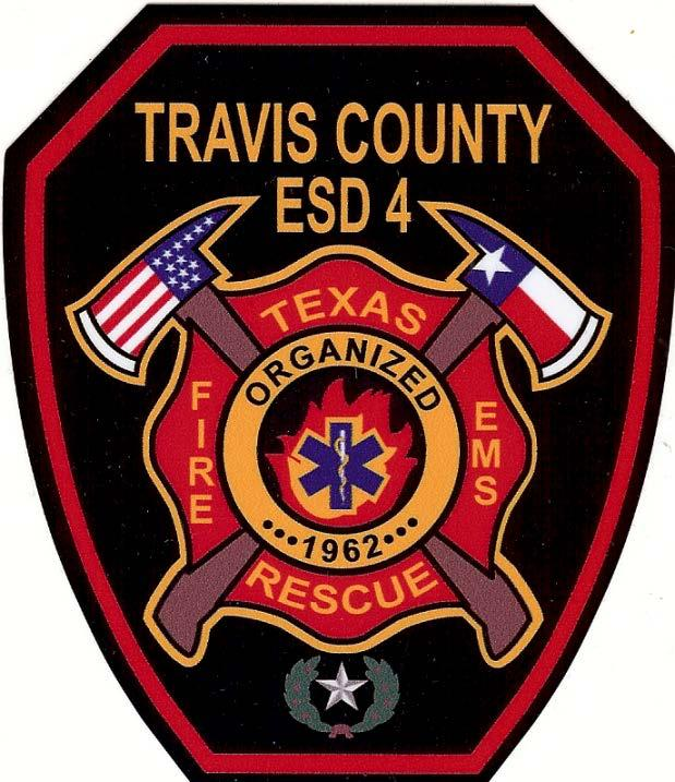 TRAVIS COUNTY EMERGENCY SERVICES DISTRICT #4 FIRE AND EMT ACADEMY CADET CLASS XV