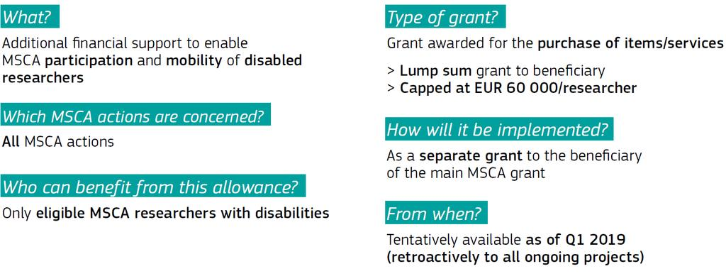 MSCA Work programme 2018-2020: What's new?