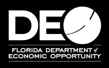 Inventory: and Goal Statements in Existing Statewide Plans 1 Developing Florida s Strategic 5-Year Direction, 29 November 2011 Florida Department of Economic Opportunity: State of Florida Job