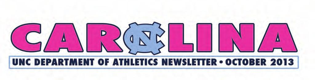 UNC Athletics Turns It Pink! Thanks to all who participated in the department-wide Pink Out on Oct. 23.