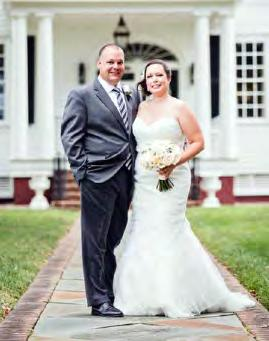 5 in Chapel Hill. Catherine Mitchell, softball director of operations (see page 5!), was a bridesmaid.
