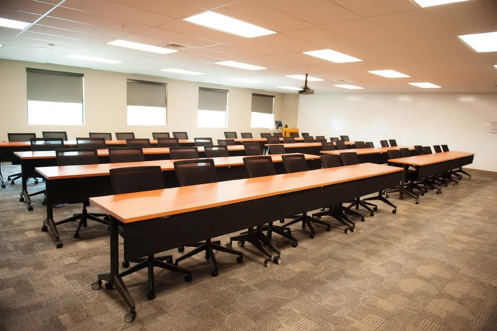 The latest technology, along with knowledgeable and friendly staff, makes this conference center one of the best. Michael A.