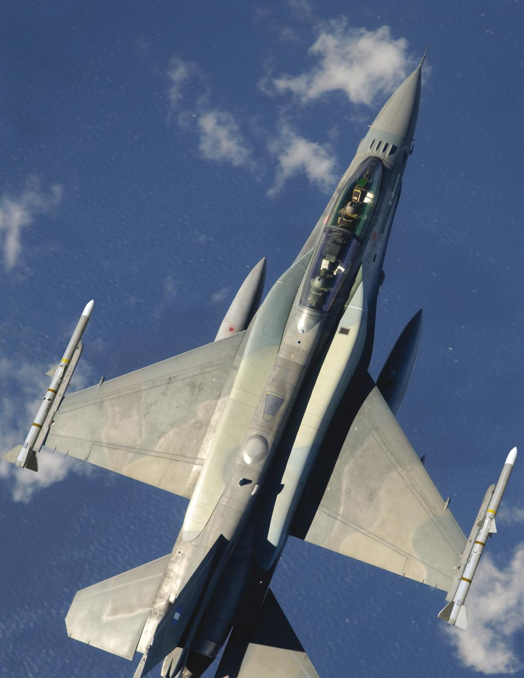 Any Mission, Any Time... the F-16 Defines Multirole The enemies of world peace are changing.