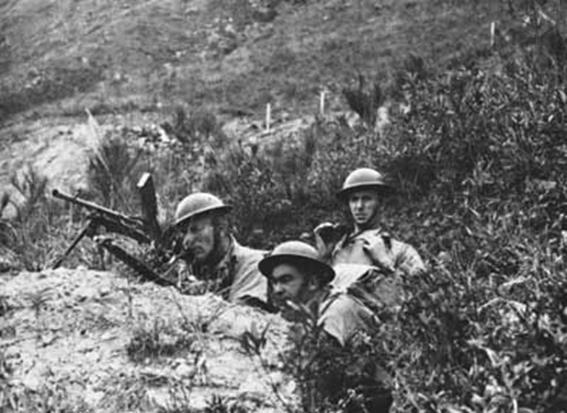Defense of Hong Kong Canadians fought their first engagement of the Second World War defending the British island colony of Hong Kong.
