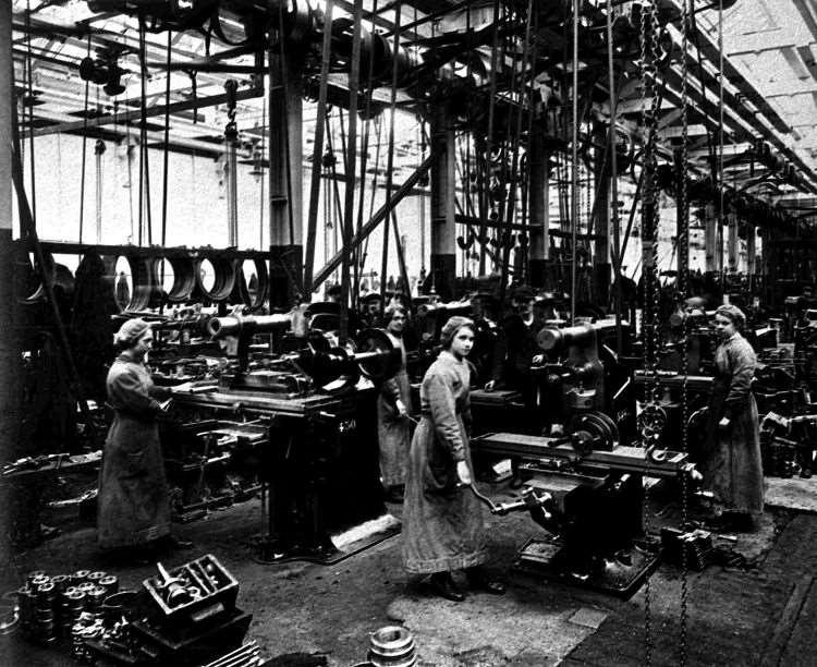 By war s end Canadian factories were supplying 35% of all British and Canadian ammunition