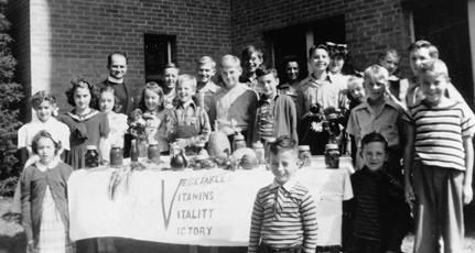 "Even Nebraska families who did not live in rural areas got involved with agriculture through the nationwide ""Victory Garden"" program."