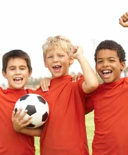 YOUTH SPRING SOCCER CLINIC Ages 4 7 This four-week fundamental clinic teaches the basics of soccer, the positions, rules, sportsmanship, kicking, passing, and throwing of the soccer ball.